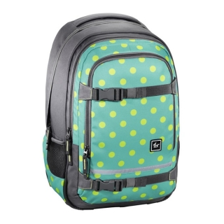 "Studentský batoh All Out ""Selby"", Mint Dots"